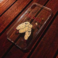 BABOSARANG - Illustration Soft Mobile Case (Galaxy S9)