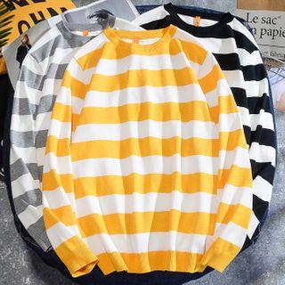 Rampo - Striped Knit Top