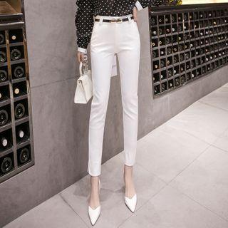 Anjalia - Skinny Dress Pants