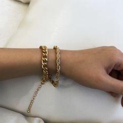 Seirios - 套装: 合金粗链条手链