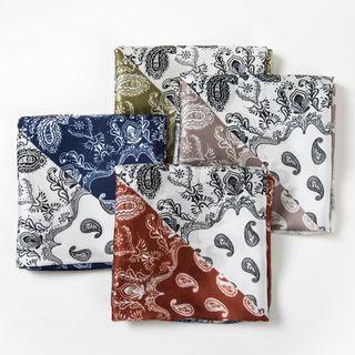 Soiea - 印花色丁围巾