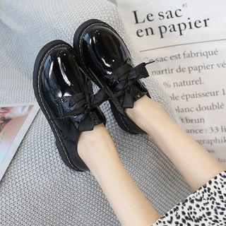 Putcho - 仿皮繫帶樂福鞋