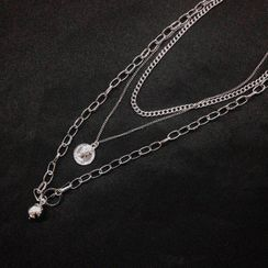 Malnia Home - Layered Pendant Necklace