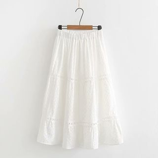 Elisah - A-Line Midi Skirt