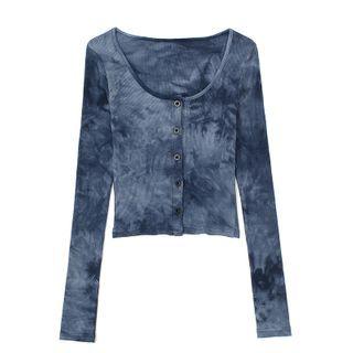 JIN STUDIOS - Set: Tie Dye Light Jacket + Halter Top