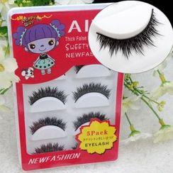 Aimo - 五件套装: 假睫毛