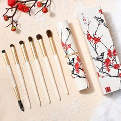 MAKE UP FOR YOU - Set of 6: Eyeshadow Makeup Brush