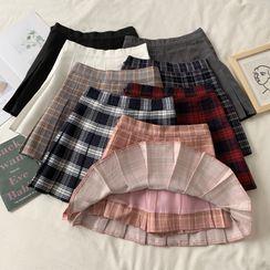 Sisyphi(シシピ) - Pleated Skirt