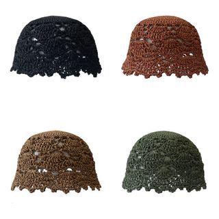 Heloi - Straw Bucket Hat