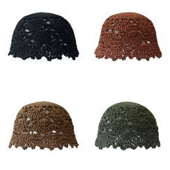 Heloi - 草编渔夫帽