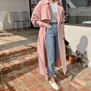 HOTPING - [LOVB] Pastel Trench Coat