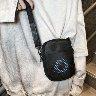 Mulgam - Iridescent Dotted Lightweight Crossbody Bag