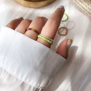 Dollu - Beaded Rings