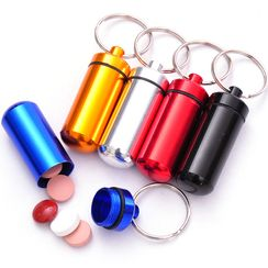 Maltjoy Home - Pill Box with Keyring