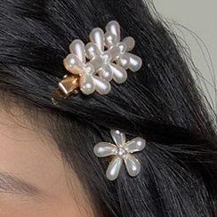 PO!NY STUDIO  - Flower Hair Clip / Set