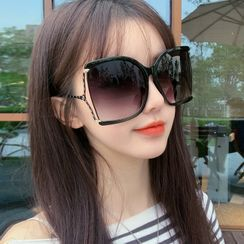 MOL Girl - 方形圓形太陽眼鏡
