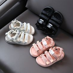 Creayu - Kids Adhesive Strap Sandals