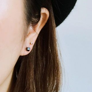 Andante - 饰珠耳钉