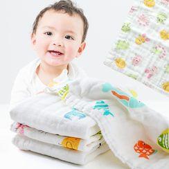 Home Simply - 印花速乾潔面巾