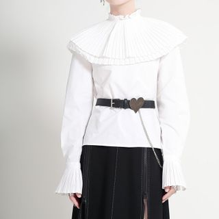 Ultra Modern - Flared-Cuff Blouse