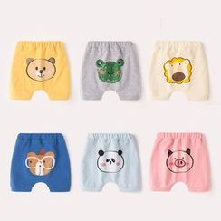 DuduBaby - Baby Cartoon Printed Pants