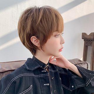 SEVENQ - 短款假髮 - 波波頭