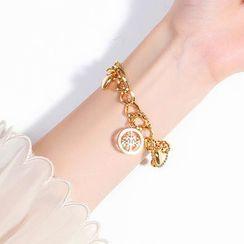 Tenri - Pendant Chain Layered Bracelet