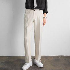 VEAZ - 纯色直筒西裤
