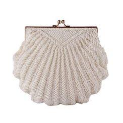 Moonflower - 贝壳形状手包