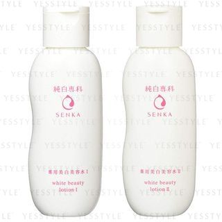 Shiseido - Senka White Beauty Lotion 200ml - 2 Types