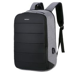 Endemica - Paneled Lightweight Laptop Backpack With USB Charging Port