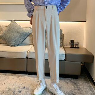 VEAZ - High-Waist Cropped Dress Pants