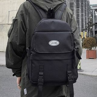 HOVERUP - Logo Buckled Lightweight Backpack
