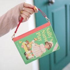 iswas - 'Paper Doll Mate' 系列书本手包 - (小)
