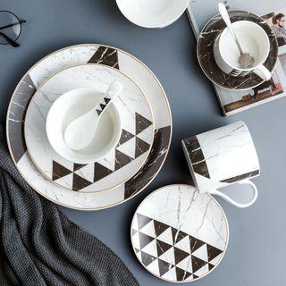 Cassandra - Printed Ceramic Plate
