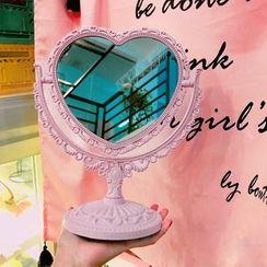 Yunikon - Embossed Desktop Mirror