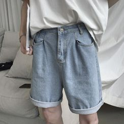Wescosso - 牛仔五分短裤