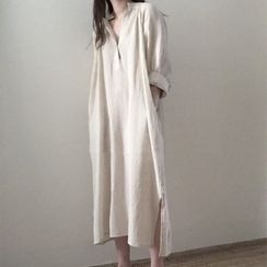 Coheat - Plain Midi Shirtdress