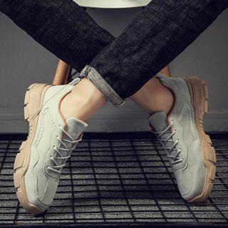 MARTUCCI - 绒面厚底休閒鞋