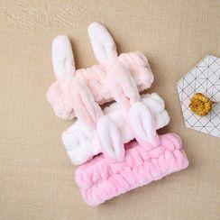 YOUSHA - Rabbit Earring Face Wash Headband
