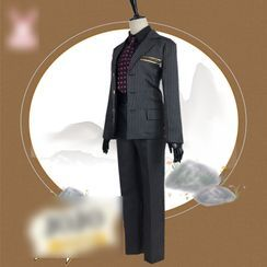 Mikasa - JoJo's Bizarre Adventure Diavolo Cosplay Costume Set