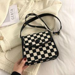 Kunado - Checkered Crossbody Bag
