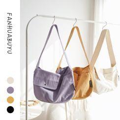 wallFLOWERz - Plain Canvas Shoulder Bag