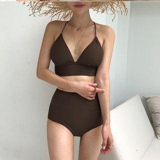 Oceanid - Open Back High-Waist Bikini
