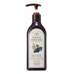 SKINFOOD - Huile de pépins de raisin nettoyant pour le corps 335ml