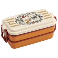 Skater - Chip & Dale 2 Tier Lunch Box 660ml