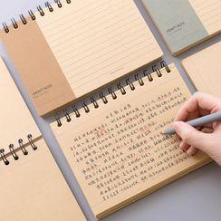 SOONERGO - 牛皮纸小型笔记本