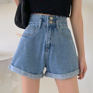 Thricewhoo - Denim Shorts