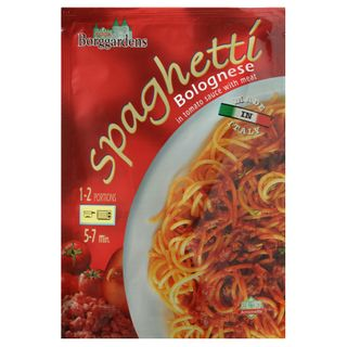 Grainee Foods - Borggardens Spaghetti Bolognese in Tomato Sauce With Meat
