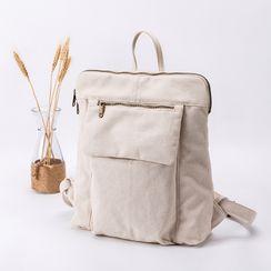 YONBEN - Plain Canvas Backpack